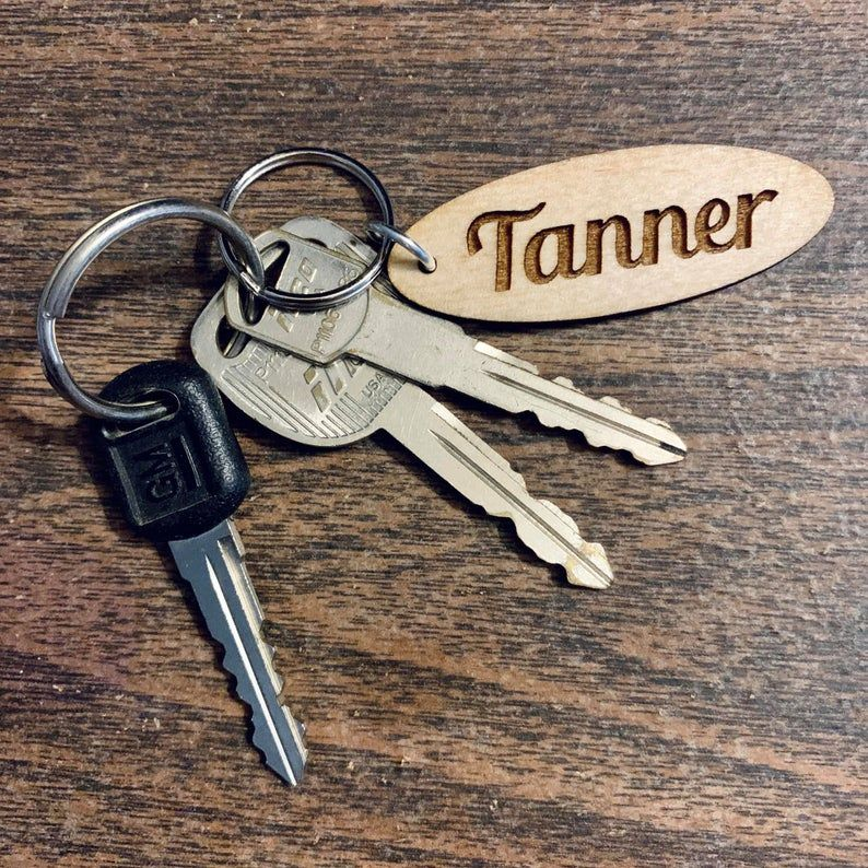 Anniversary Wood Photo Gift Present Engraved Photo Keychain Picture Keychain Personalized Engraved Keychain Custom Keychain