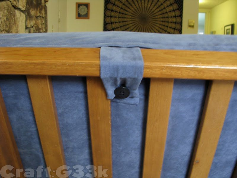 Keep Futon From Slipping Down