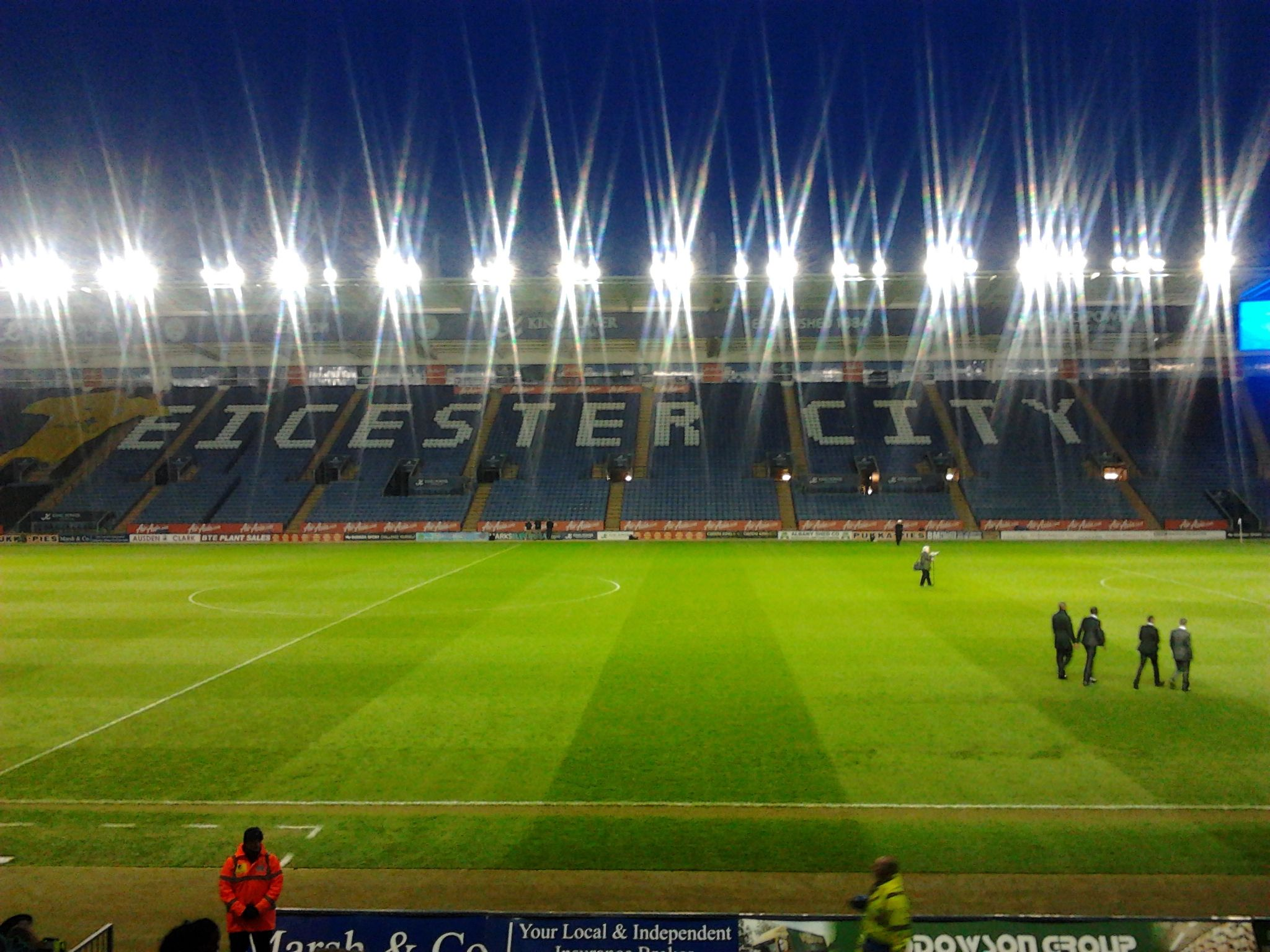 Walkers Stadium (now King Power Stadium) Leicester
