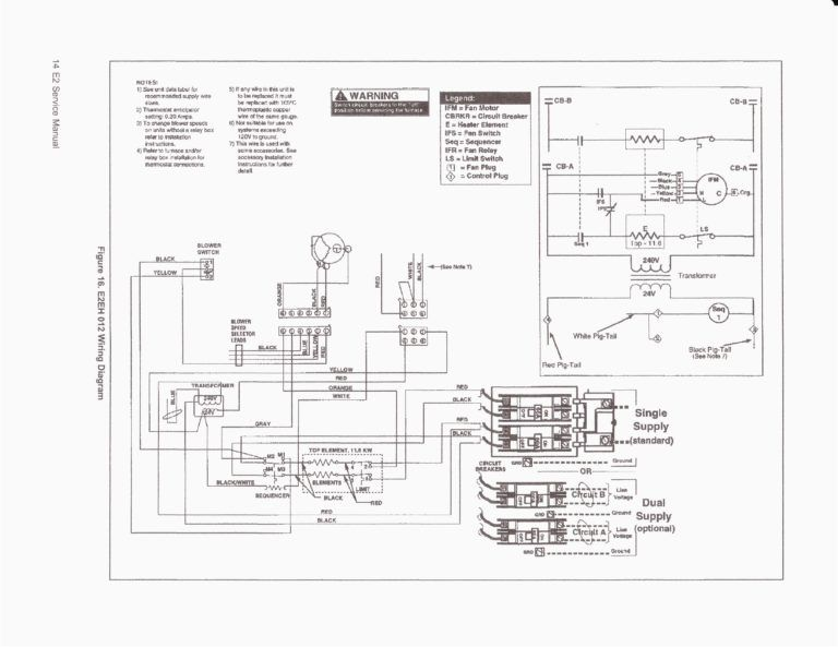 Furnace Wiring Diagram Electric furnace, Honeywell