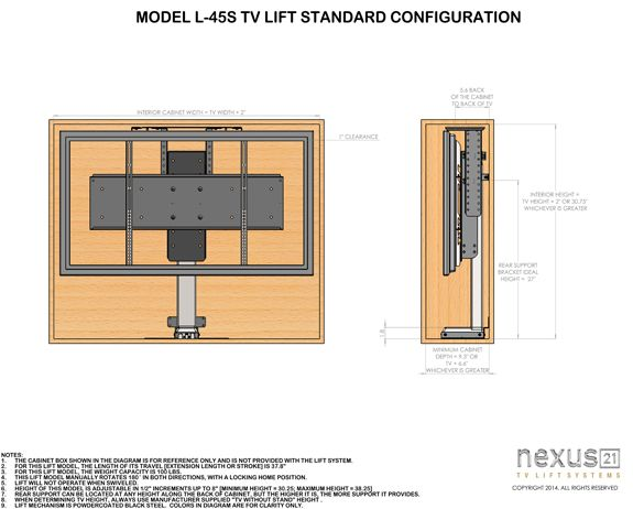 Tv Lift Mount Swivel Tv Swivel Tv Mount Swivel Tv Stand