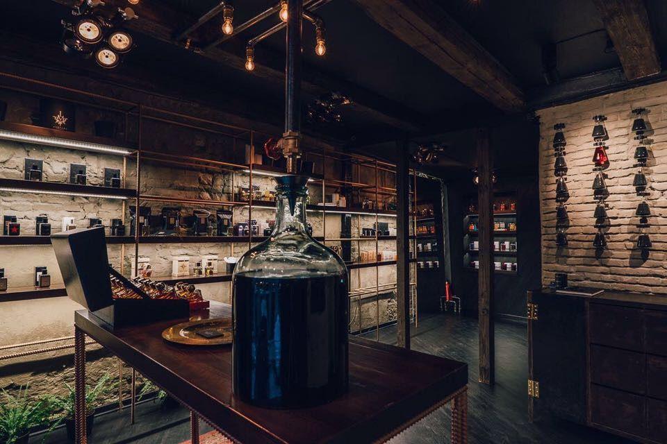 Crime Passionnel Niche Perfume Boutique Interior Design Nishane
