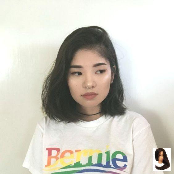 Asian Faces Hairstyle For Round Faces Hairstyles Short New Short Hairstyles For Round Fa Frisur Kurz Rundes Gesicht Frisuren Rundes Gesicht Rundes Gesicht