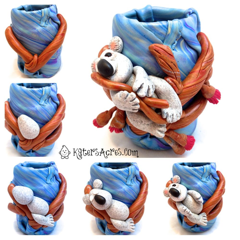 How To Make a Koala Bear by KatersAcres for the Friesen Project