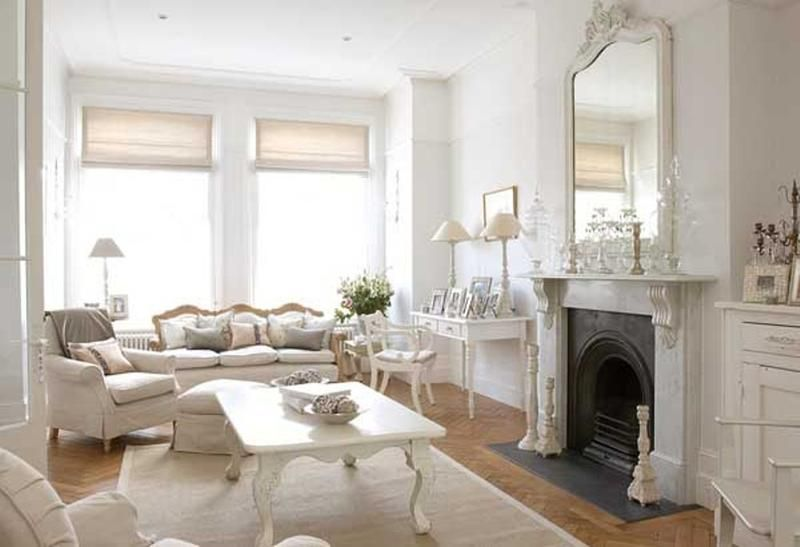 20 Distressed Shabby Chic Living Room Designs To Inspire | Shabby ...