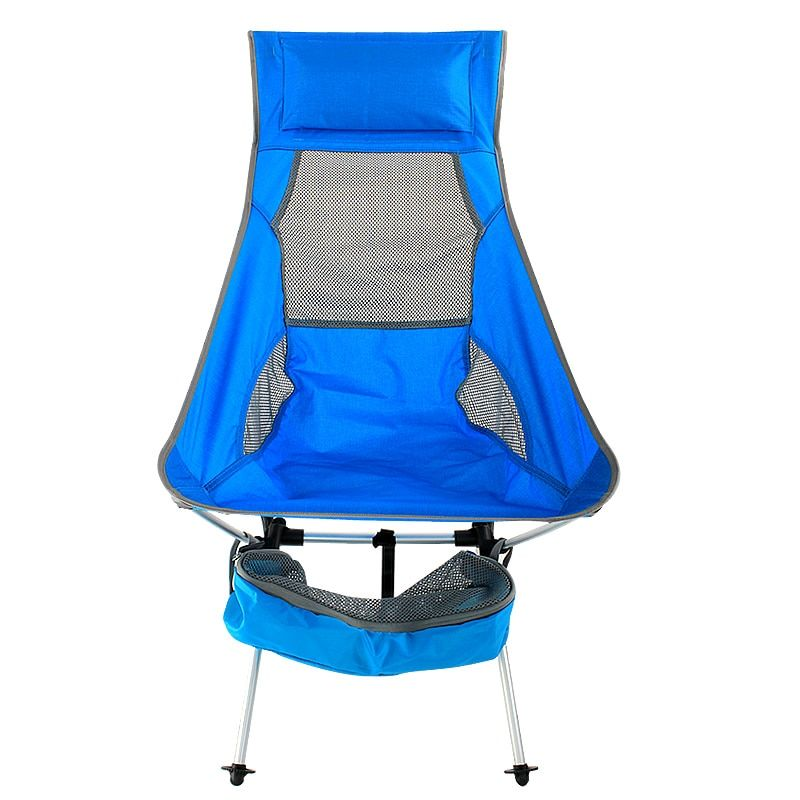 2019 New Outdoor Ultralight Portable Folding Blue Chairs With Carry Bag Heavy Duty 360lbs Folding Chairs Beach Chairs 2 In 2020 Bag Heavy Folding Chair Beach Chairs