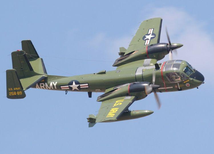 OV-1 Mohawk was developed by Grumman Aircraft as a photo ...