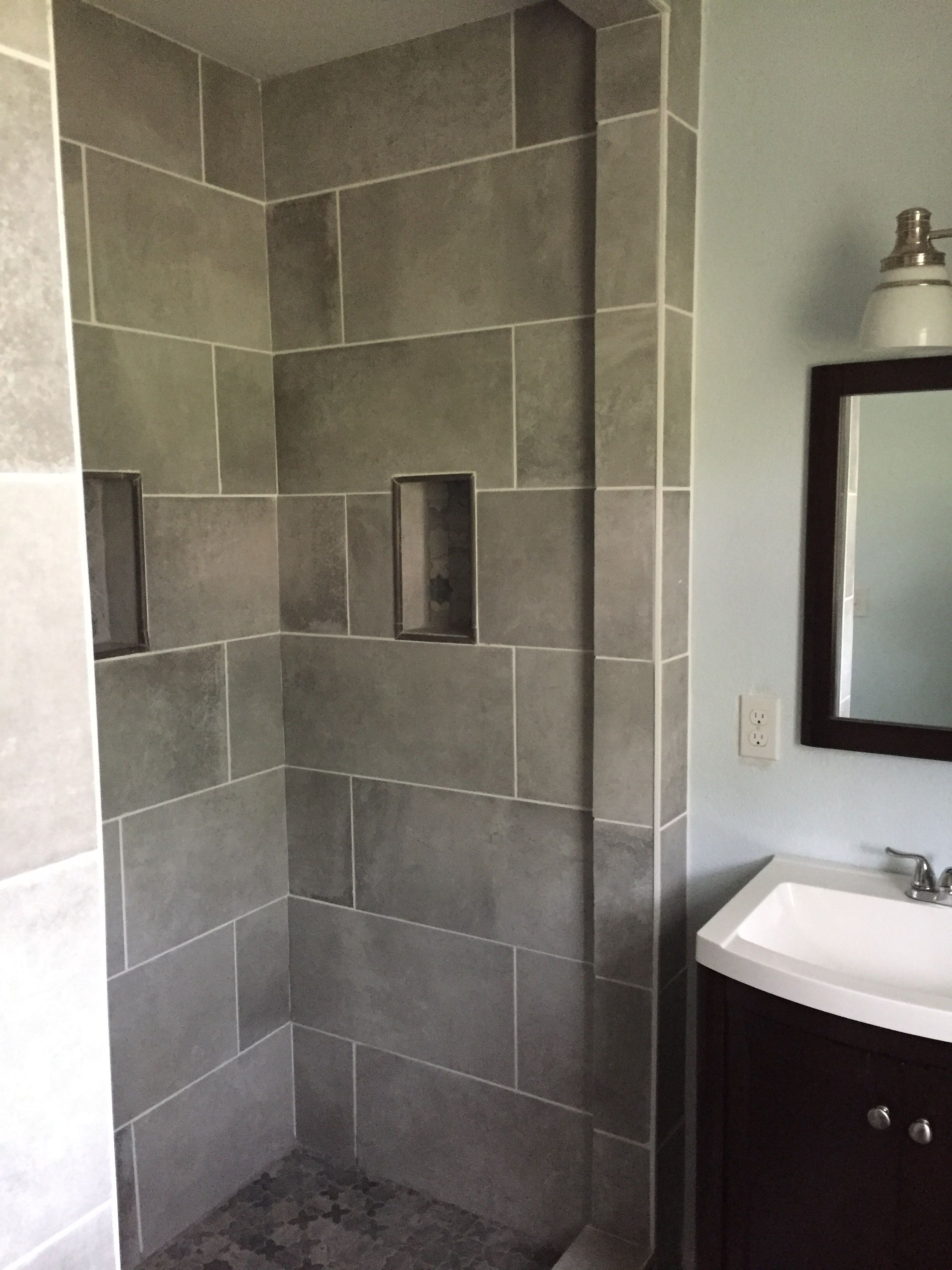 Finally Finished My Bathroom Paint Helium Behr Paint Tile COTTo - Behr bathroom paint home depot