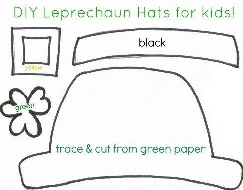 Leprechaun-hats-386x500 Leprechaun Hat Template Printable | Hats off ...