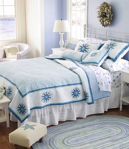 I love L.L. Bean quilts! We have one on Gyllian's bed! | Home ... : llbean quilts - Adamdwight.com