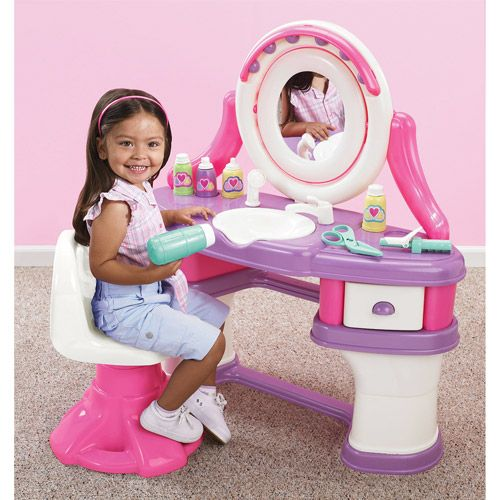 Toy Hair Salon : American plastics beauty salon play set christmas toys