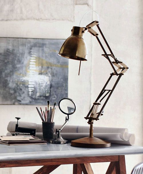 Enzo Classic Architect Desk Lamp Articulated Task Light Desk Lamp Lamp Architects Desk