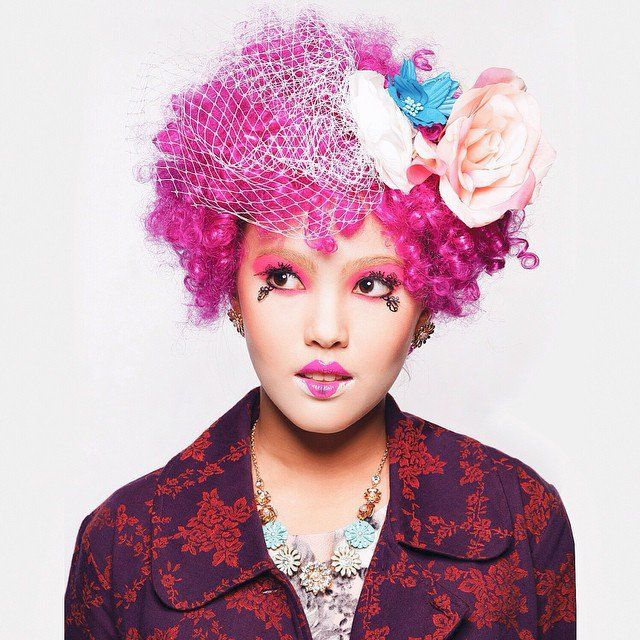Pink Hair Effie Trinket Effie Trinket Clever Halloween Clever Halloween Costumes