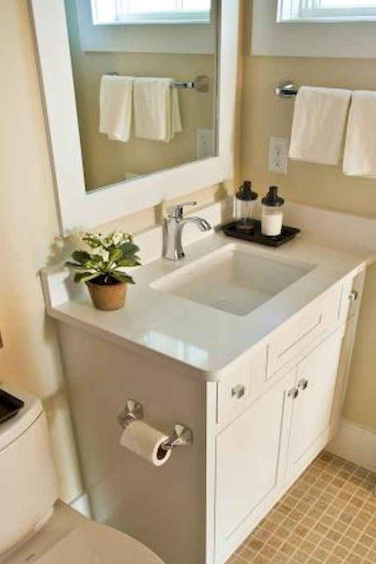 20 Clever Pedestal Sink Storage Design Ideas Small Master