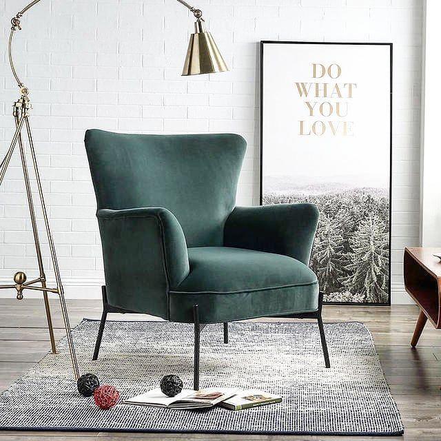 Fauteuil Cliford Gris Anthracite Bobochic En 2020 Fauteuil Design Mobilier De Salon Idee Deco Appartement