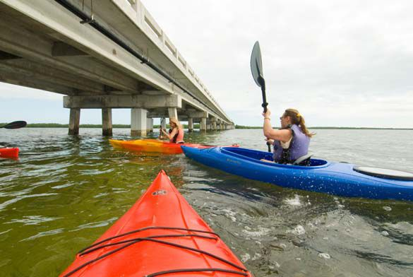 Kayak Tours Depart From The Old Wooden Bridge That Linked Big Pine Key