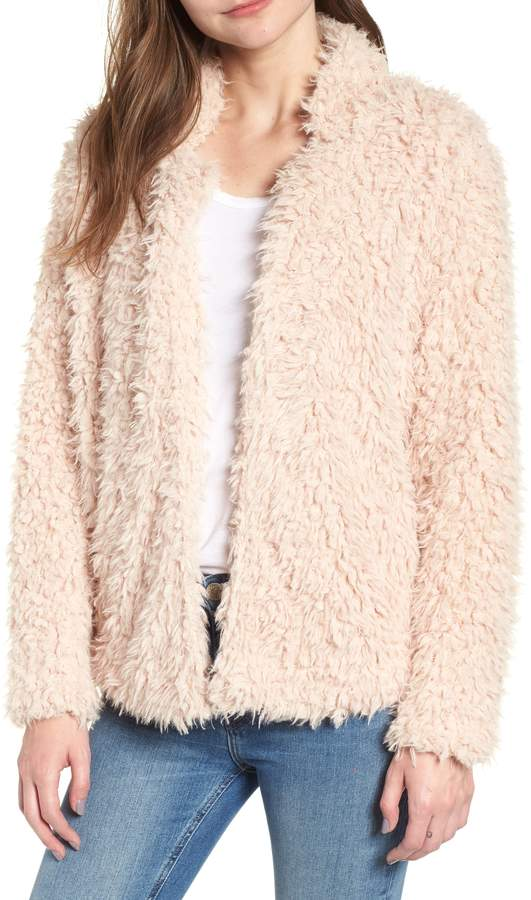 23aa1b6ae87 Bishop + Young BISHOP AND YOUNG Faux Fur Crop Jacket