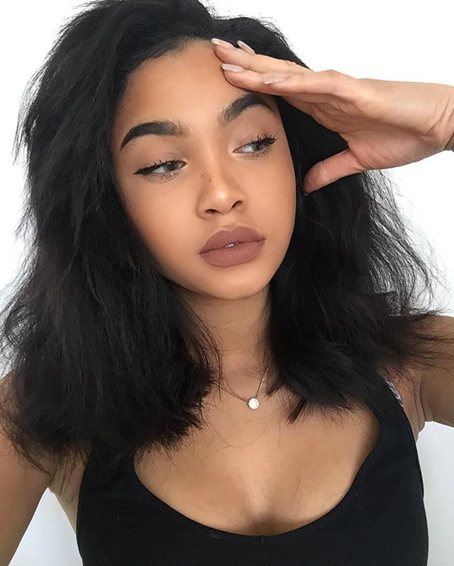 Light Brown Lips Are Good On Tan Skin But Don T Have It Be Ashy Brown Lips Are More Of A White Peop Light Skin Girls Light Skin Black Girls Light Brown