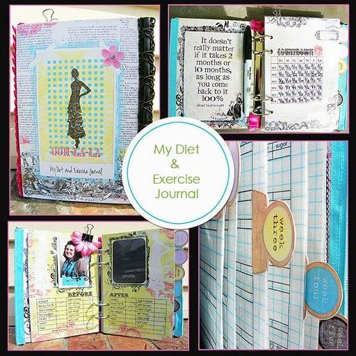 Scrapbooking Your Goals for 2011 Weight loss, Cholesterol diet and