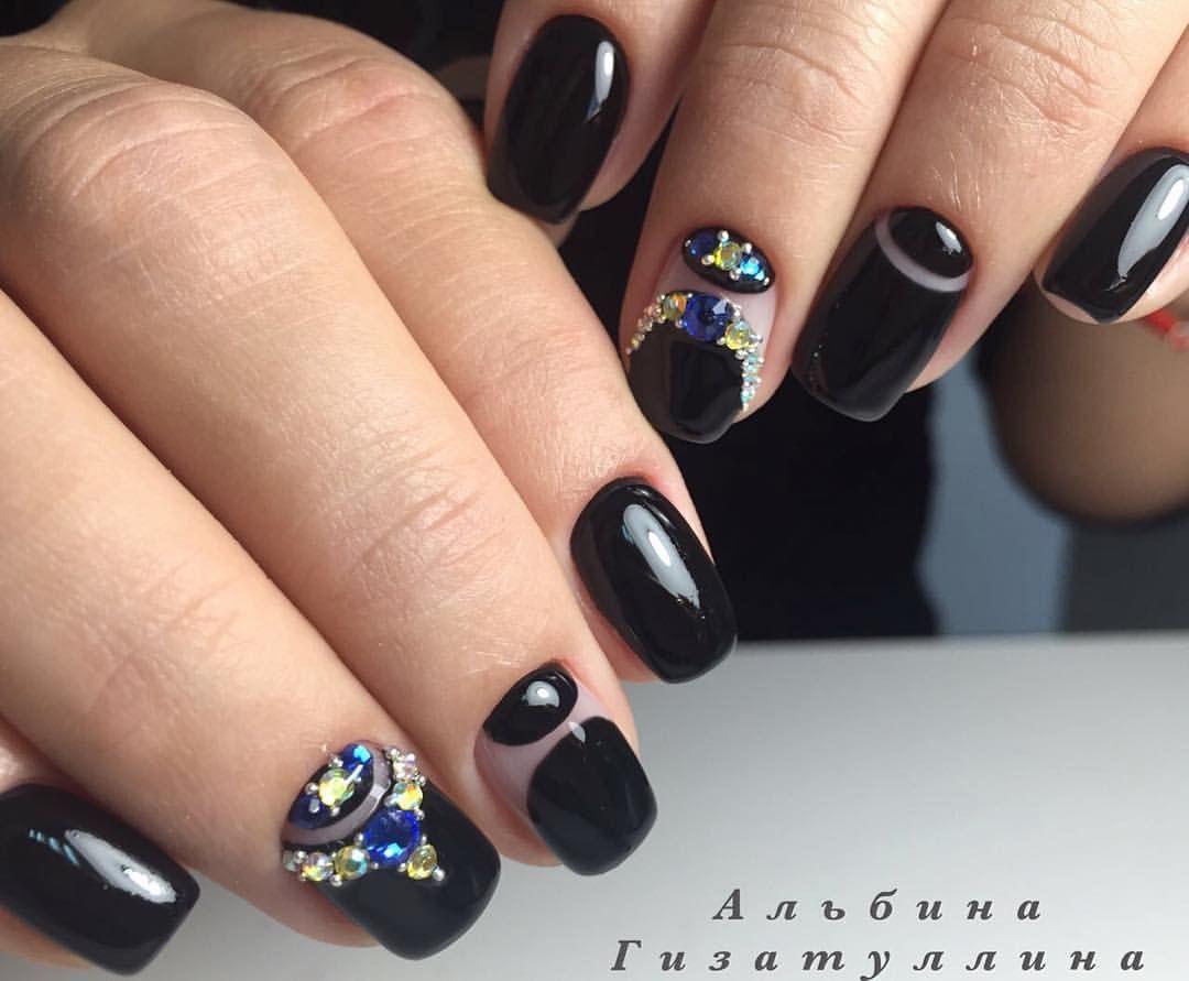 Nail Art #2722 - Best Nail Art Designs Gallery   Moon nails, Nail ...