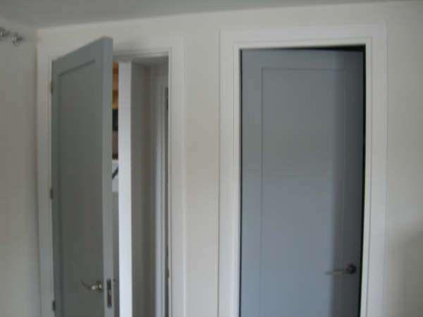 Lacado de puertas lacado de puertas pinterest lacado for Pintura para marcos de puertas