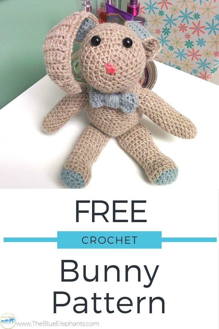 Crochet Bunny FREE Pattern + Tutorial | Conejo y Costura