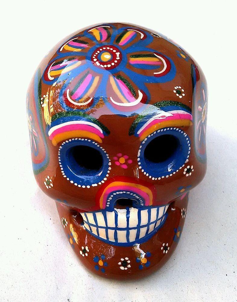 Ebros Mexican Dias De Los Muertos Sitting Lady Skeleton Day of The Dead Statue 4Tall Decorative Altar Bone Mother Figurine