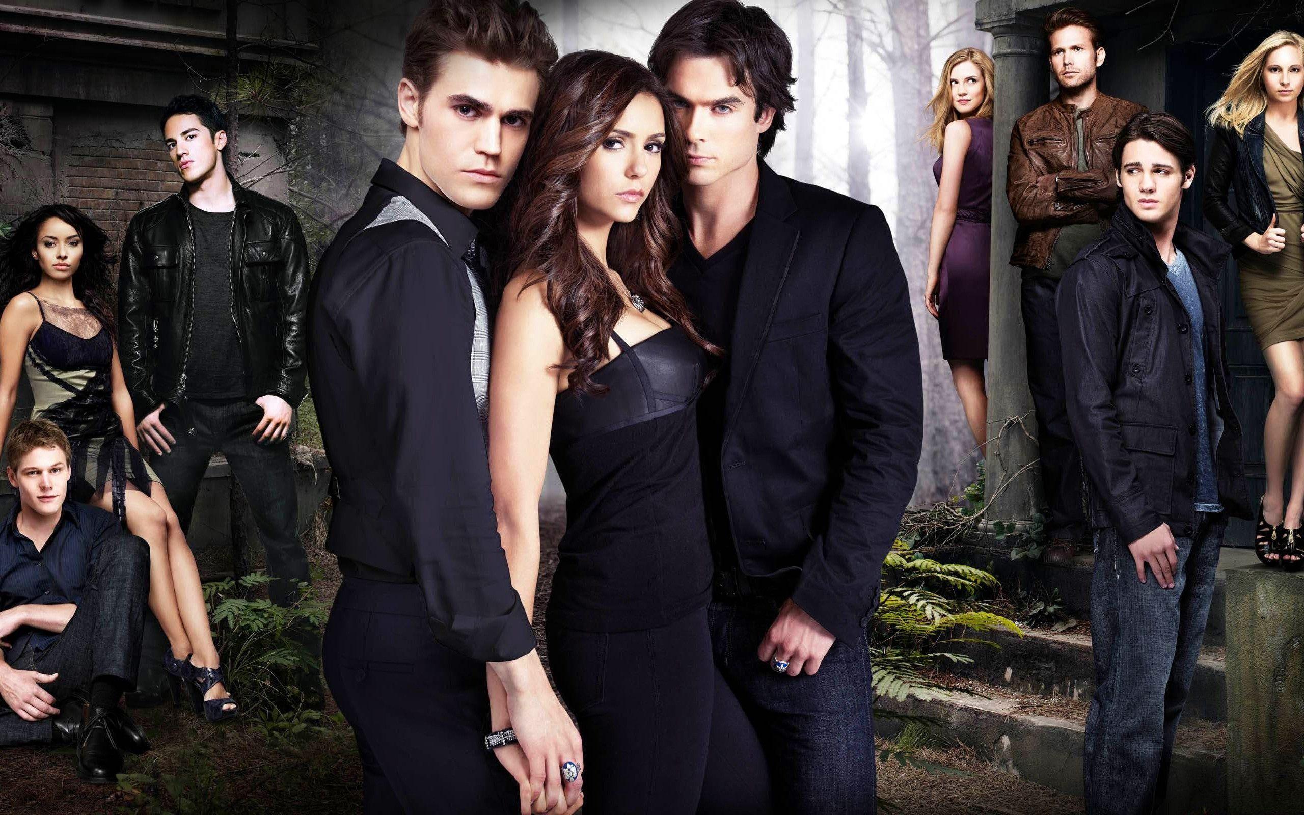 The Vampire Diaries Season 2 Wallpapers Hd Wallpapers Vampire