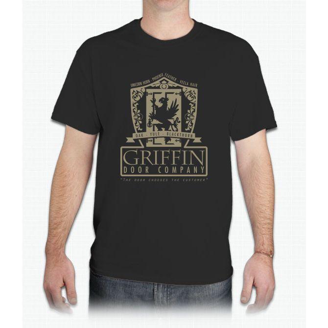 Griffin Door Company Harry Potter - Mens T-Shirt