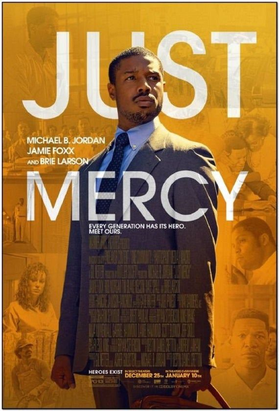 Just Mercy 2020 Original 27x40 Final Movie Poster Michael B