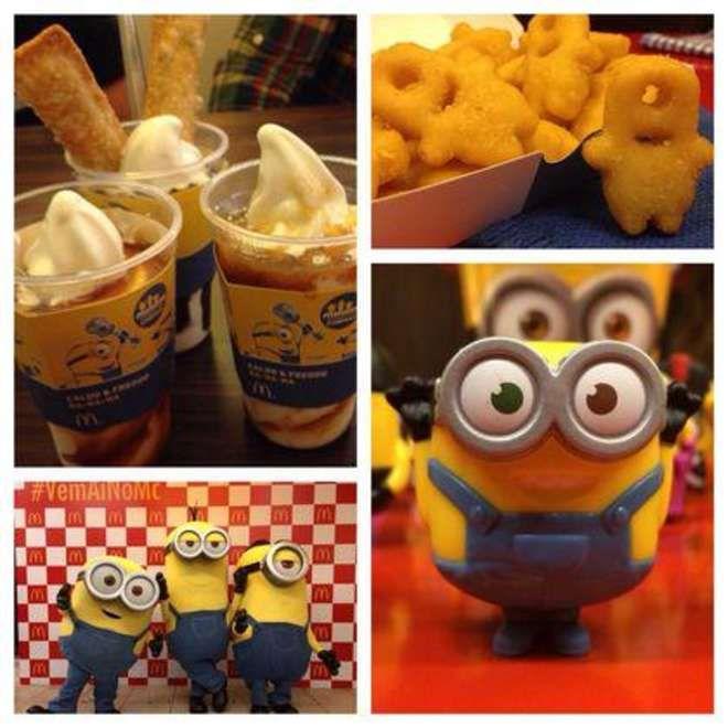 Ils sont partout ! Les Minions débarquent chez McDonald's !