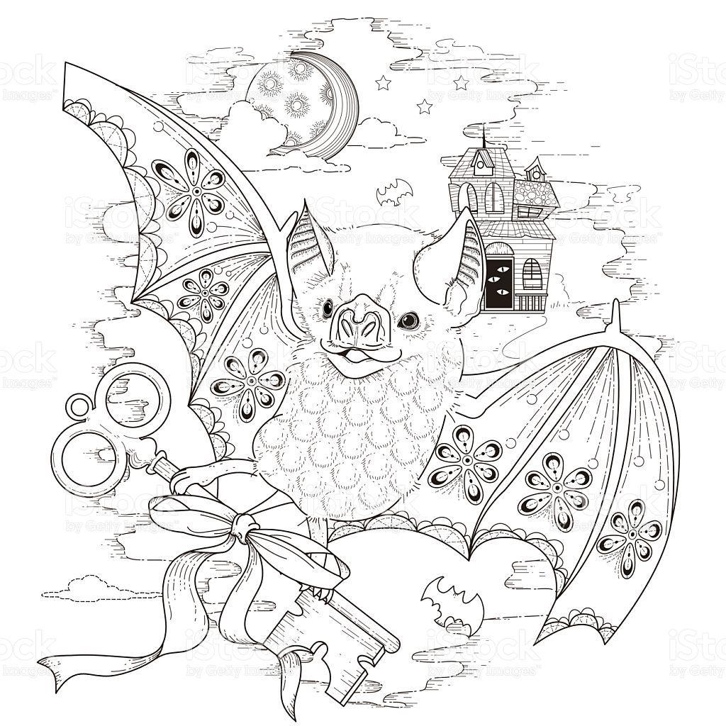 Schone Bat Coloring Seite Lizenzfreies Schone Bat Coloring Seite Stock Vektor Art Und Mehr Bilder Von 20 Malvorlagen Lustige Malvorlagen Fledermaus Malvorlagen