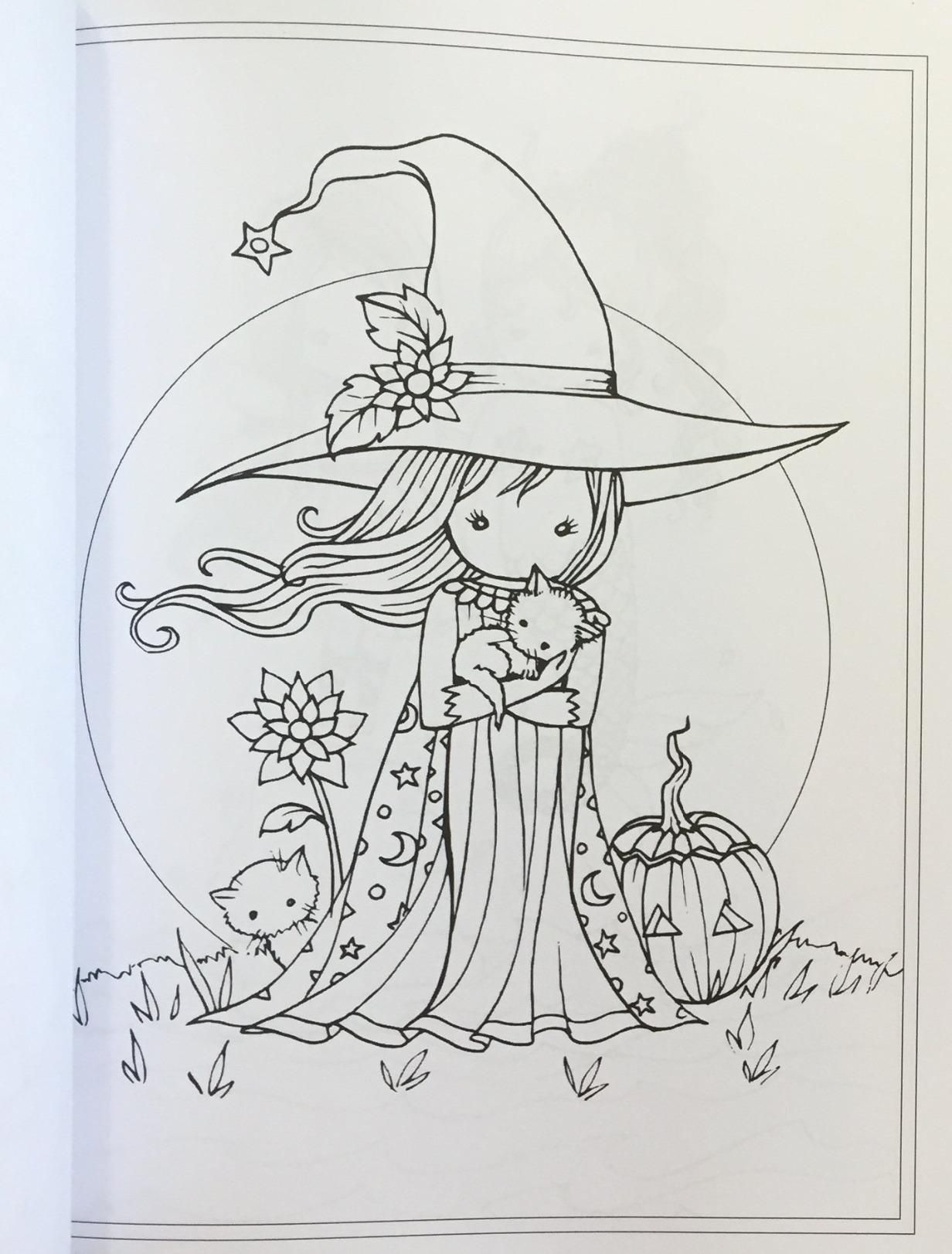 Whimsical World 2 Coloring Book Fairies Mermaids Witches Angels