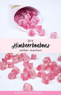 Rezept: Himbeerbonbons einfach selber machen