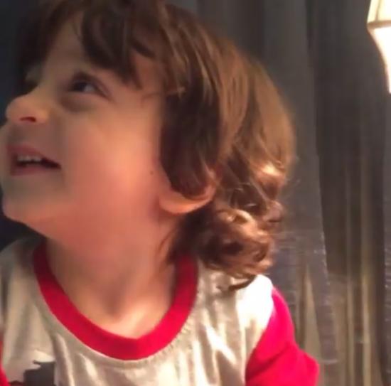 Watch: Abram Tries Calling Aryan 'Bhaiya' in This Video & it's Too Cute to Miss!