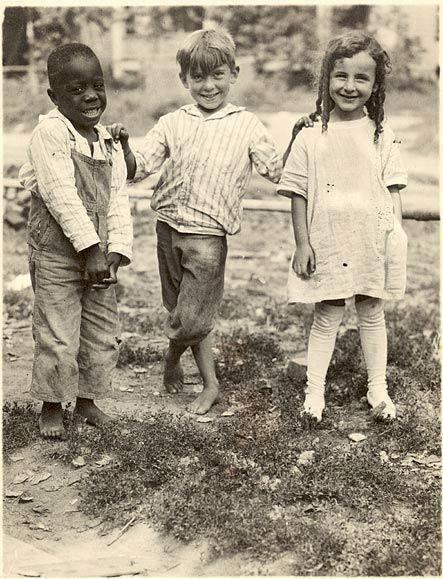 f0a6a48537 Neighborhood kids sharing a laugh in Nebraska