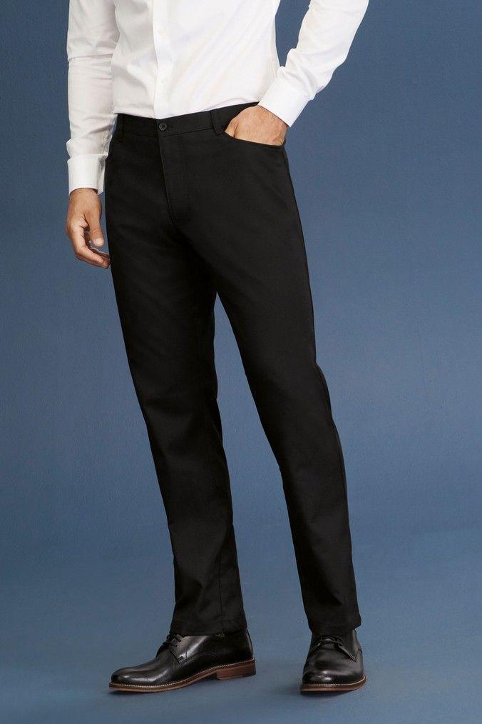 2b5801a03 Mens Next Black Regular Fit Five Pocket Trousers - Black | Products ...