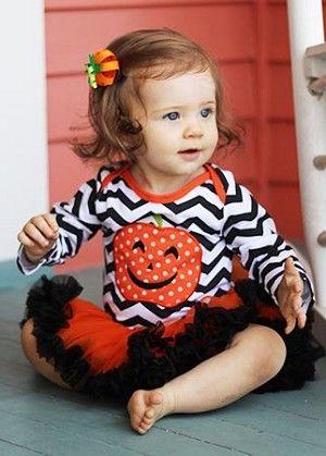 Halloween Pumpkin Tutu Onesie