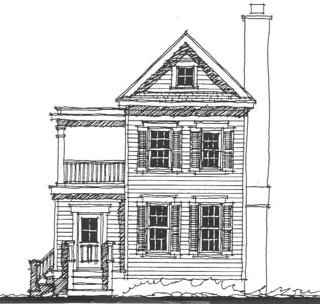 Elevation | Tiny houses and studios, & garage apts | Pinterest ...