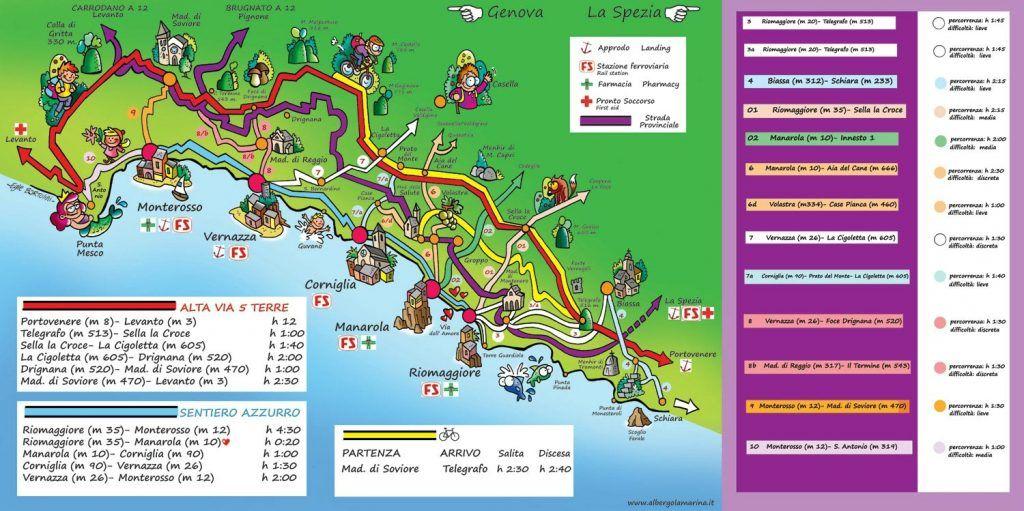 Cinque Terre Visiter Les Cinq Villages En Italie Guide Complet