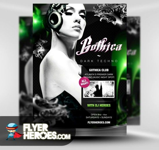 60 Free Psd Poster And Flyer Templates Party Flyer Flyer