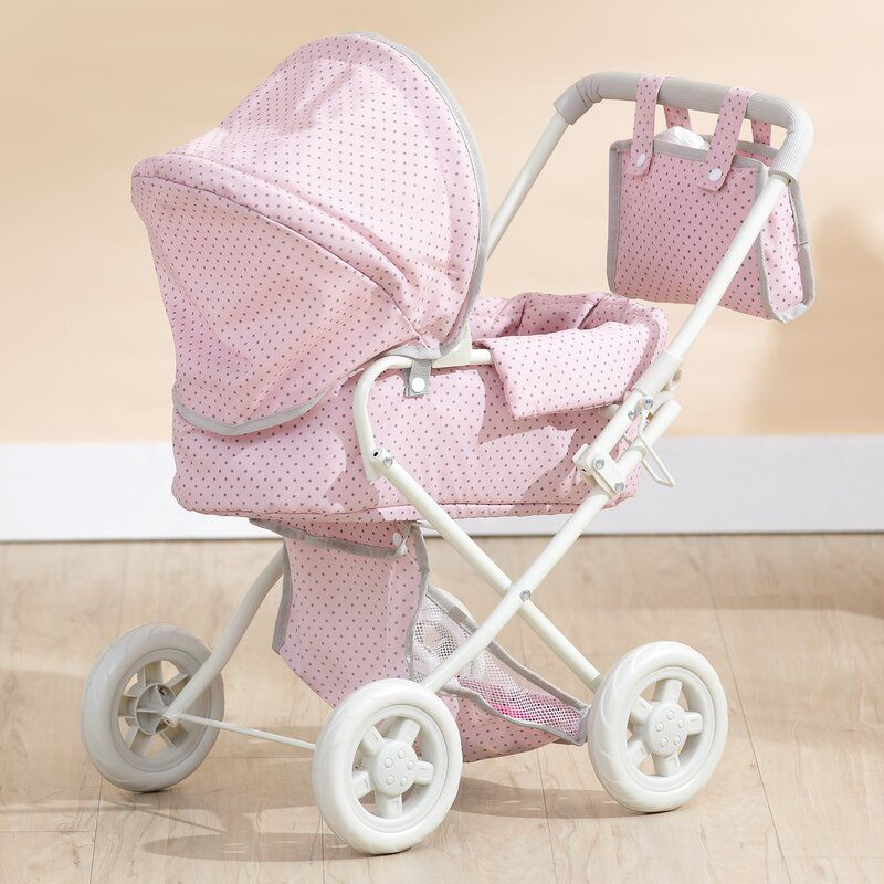 Polka Dots Princess Baby Doll Deluxe Stroller in 2020