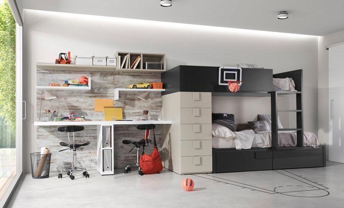 Kibuc muebles y complementos juveniles chroma habitaciones deco muebles mobiliario - Mobiliario juvenil barcelona ...