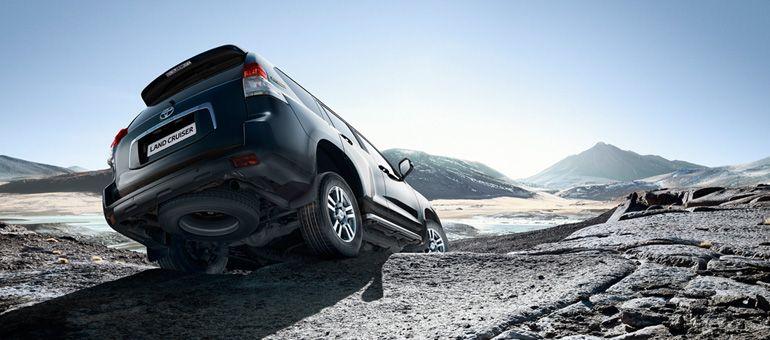 Toyota Landcruiser - unstoppable.