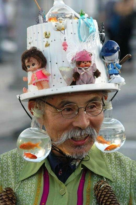 People With Weird Hats 4