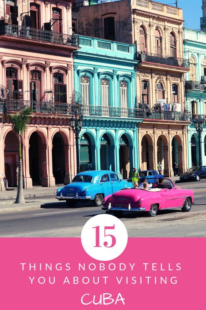 15 Things to Know Before Visiting Cuba ~ Maps & Merlot
