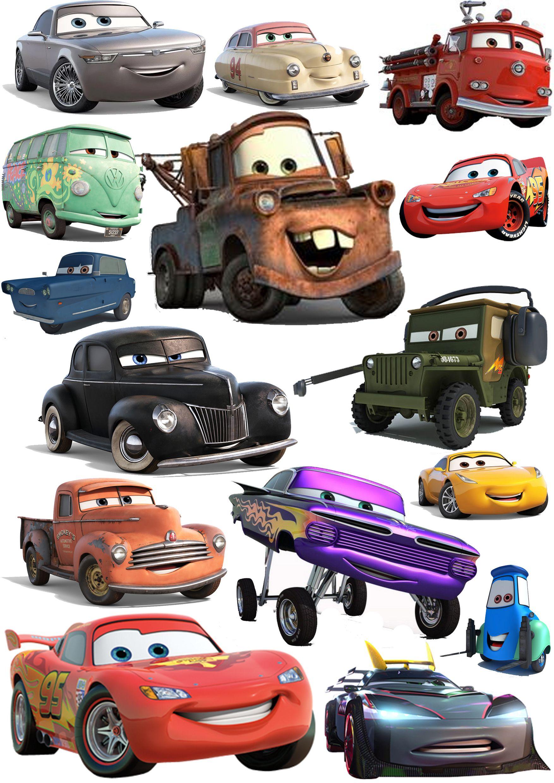 Cars Visuals Disney Cars Toy Car Disney [ 2480 x 1754 Pixel ]
