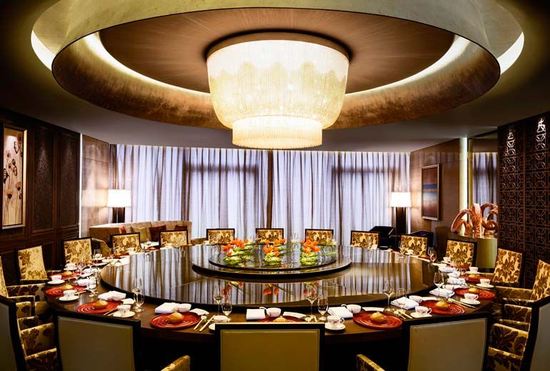 Sheraton Huzhou Hot Spring Resort Yue Chinese Restaurant Private Custom Restaurant With Private Dining Room