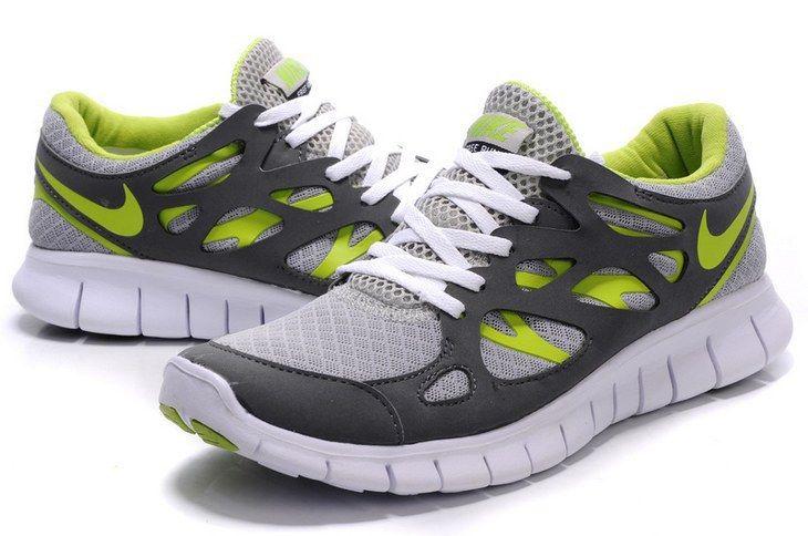 nike free run 2 verdes
