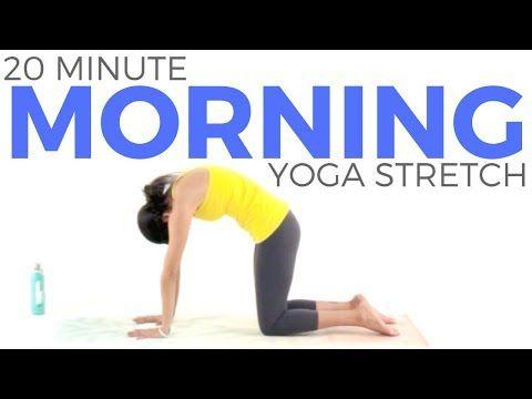 morning yoga stretch 20 minute yoga morning yoga to wake